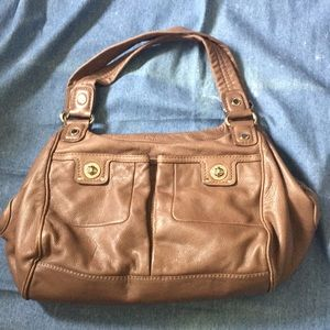 Marc Jacobs Taupe Satchel